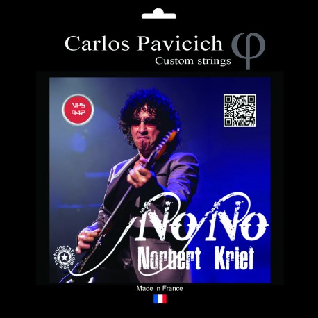 Jeu cordes Nono Krief  Nickel 942