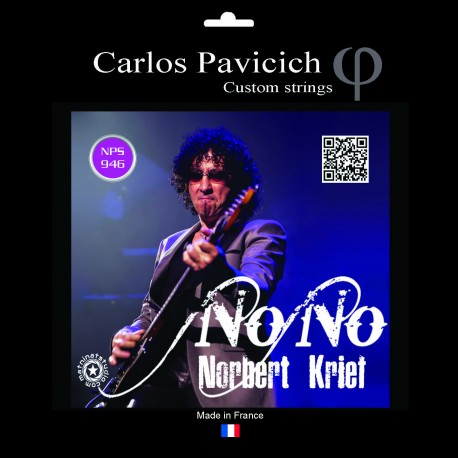 Jeu cordes Nono Krief  Nickel 946