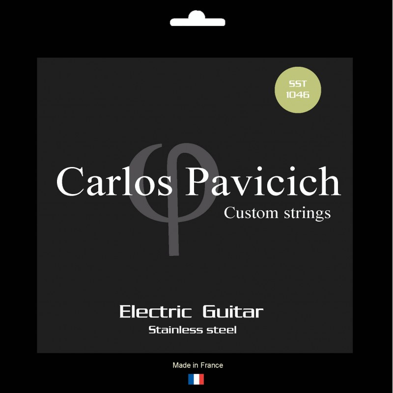Jeu Carlos Pavicich stainless steel 1046
