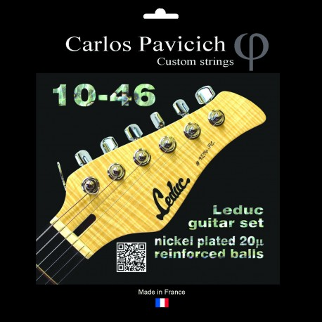String set Christophe Leduc Nickel20 946