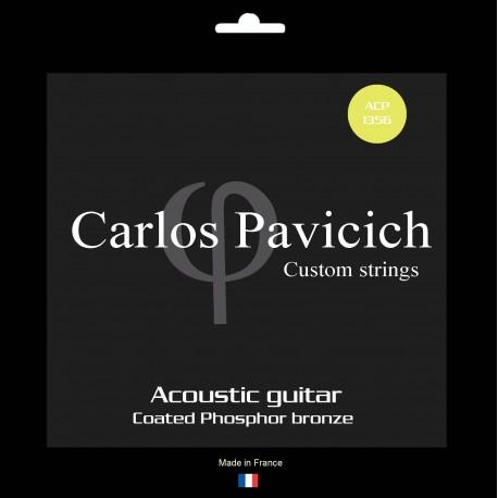 Jeu  guitare  acoustique Phosphore-bronze 1356