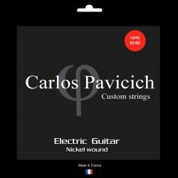 Jeu  guitare  électrique Nickel wound 1046