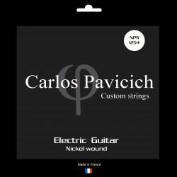 Jeu  guitare  électrique Nickel wound 1254