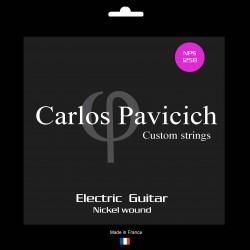 Jeu  guitare  électrique Nickel wound 1258