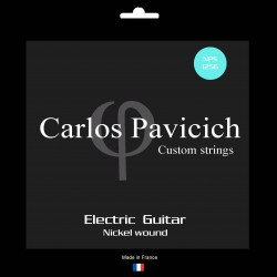 Jeu  guitare  électrique Nickel wound 1256