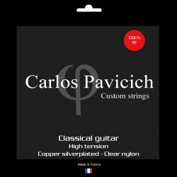 Classical guitar clear nylon set High tension