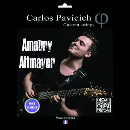 Set Amaury Altmayer 2 strings Stainless steel 68-80