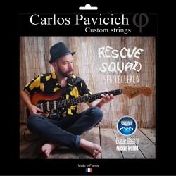 Jeu guitare basse VI Nickel  25-95 Seb Leclercq signature