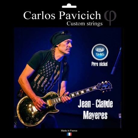 Jean-Claude Mayeres signature Pure Nickel wound  946 electric guitar set