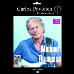 Jeu Michael Thompson Phosphore bronze 13-54