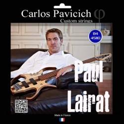Paul LAIRAT bass set Stainless steel 45-105