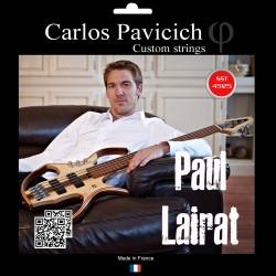 Paul LAIRAT 5 strings bass set Stainless steel 45-125
