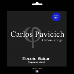 Jeu guitare stainless steel 1254