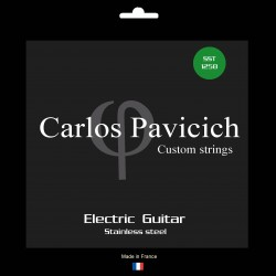 Jeu guitare stainless steel 1258
