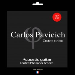 Phosphorus bronze  1253 acoustic guitar set