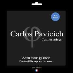 Phosphorus bronze  1254 acoustic guitar set