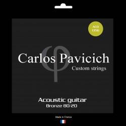 Bronze 80/20  1356  acoustic guitar set