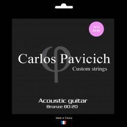 Bronze 80/20  1048 acoustic guitar set
