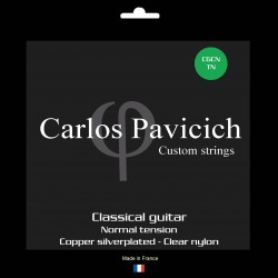 Classical guitar clear nylon set Normal tension