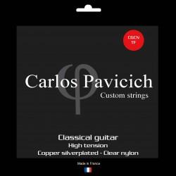 Classical guitar clear nylon set High tension