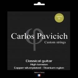 Classical guitar Titanium nylon set High  tension