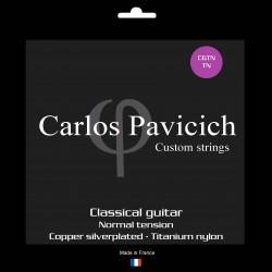 Classical guitar Titanium nylon set Normal tension