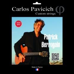 Patrick Berrogain Gypsy Jazz ball end string set 1045