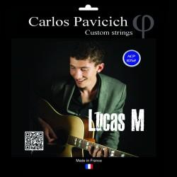 Phosphorus bronze  1052 acoustic guitar set Lucas M signature