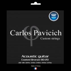 Bronze 80/20  1270  acoustic 7 strings guitar set
