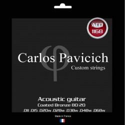 Coated Bronze 80/20  1168  acoustic 7 strings guitar set