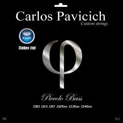 Piccolo bass set 10-46
